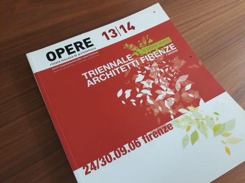 Opere 13/14 Triennale Architetti Firenze