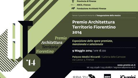 Premio Architettura Territorio Fiorentino 2014