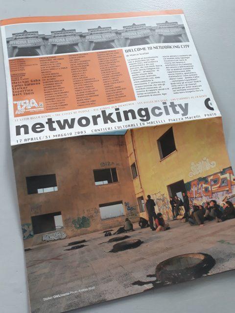"""Networking city """"La città della gente"""" 17 Aprile/31 Maggio 2003"""