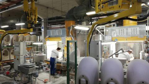 Stabilimento Pozzi Ginori a Gaeta