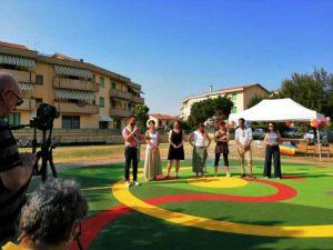 Inaugurazione Parco Libera Tutti